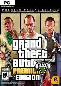 GRAND THEFT AUTO V 5 : PREMIUM ONLINE EDITION PC Klucz Rockstar Games Launcher @CDKEYS.COM