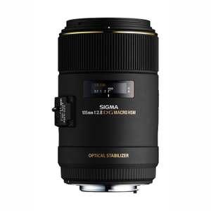 Sigma Obiektyw 105 Mm F 2.8 Ex Makro Dg Os Hsm Mocowanie Nikon / Canon