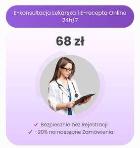 -20% na receptę online na lekarz-recepta.pl
