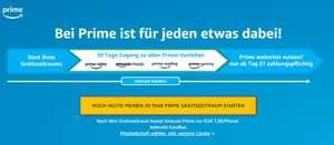 Amazon Prime - darmowe 30 dni - także jako przedłużenie