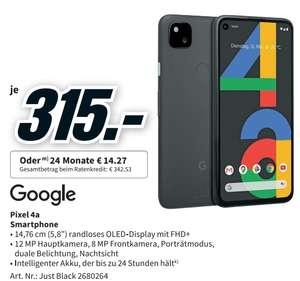 Google Pixel 4A - 315€ - MediaMarkt.de