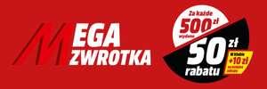 MEGA ZWROTKA w MEDIA MARKT + dodatkowe 10 zł dla klubowiczów