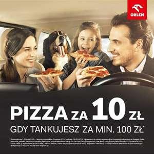 Orlen Pizza za 10 Pln MWT 100 pln
