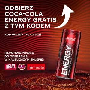 Darmowa Coca-Cola Energy w Relay/Inmedio/1Minute