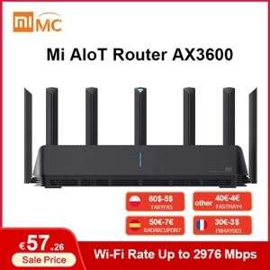 Xiaomi Mi AIoT Router AX3600 Mesh Wifi 6 Global Version