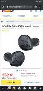 Jabra Elite Active 75t (dark grey)