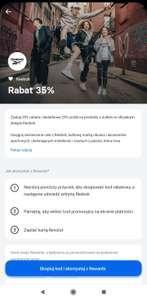 Rabat 35% na reebok.pl dla posiadaczy kont Revoult (25% na produkty przecenione)