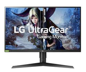"Monitor LG 27GL83A-B, 27"", IPS, 1440p, 144 Hz, HDR10, Pivot"