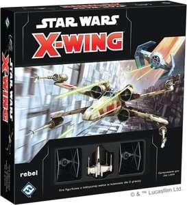 Rebel - Gra figurkowa Star Wars: X-Wing - Zestaw podstawowy (druga edycja) + zbiorcza na dodatki głównie <40 zl