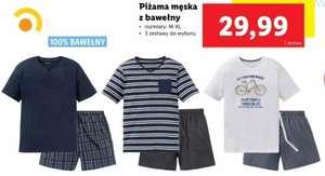 Piżama męska z 100% bawełny (zestaw) - Lidl