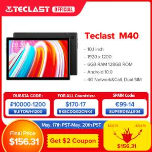 Teclast M40 tablet 10,1' - 6/128gb ramu wysyłka z Polski