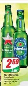 Piwo heineken 0.5l 2 rodzaje - Dino
