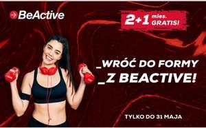 Siłownia BeActive dla studentów, karnet 2+1