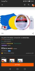 Smart okazja na allegro wosk Collinite 476S + APLIKATOR + 4x MIKROFIBRA