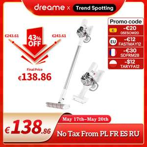 Odkurzacz pionowy Dreame V9 Pro / Aliexpress wysyłka z Polski US $164.12