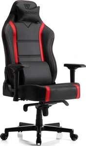 Fotel gamingowy SENSE7 Shinobi czarno-czerwony