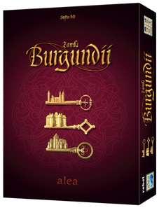 Zamki Burgundii: BIG BOX - gra planszowa, 15 miejsce rankingu BGG, ocena 8,5