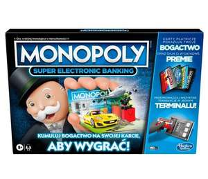 Gry Monopoly do 20% taniej (np.Monopoly Super Electronic Banking za 89,52 zł z darmową dostawą) @ al.to