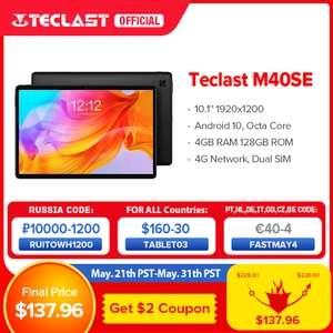 Teclast M40SE, 10,1' calowy tablet full hd, 4/128gb wysyłka z Polski