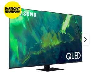"Telewizor SAMSUNG QE65Q77A 65"" QLED 4K 120Hz Tizen TV HDMI 2.1 (2021) + wkłady Aquaphor"