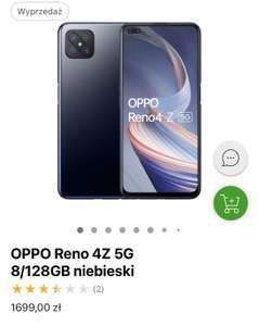 OPPO Reno 4Z 5G 8/128GB niebieski