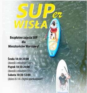 SUPer WISŁA - bezpłatne zajęcia SUP - Warszawa
