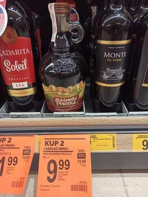 Mołdawskie wino półsłodkie, czerwone i białe 1l
