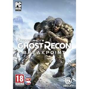 Tom Clancy's Ghost Recon Breakpoint Gra PC klucz