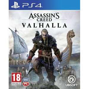 Assassin's Creed Valhalla + gadżet (np. koszulka lub steelbook) za 159 PLN na PS4/5