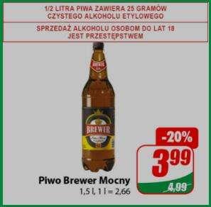 Piwo Brewer mocny 1,5l