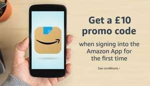 Kupon na 10£ na pierwsze zakupy przez aplikację Amazon Shopping w Amazon.co.uk (MWZ 30£ sprzedający Amazon)