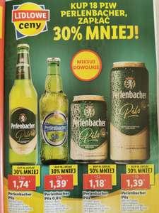 Perlenbacher, Kup 18 piw, zapłać 30% mniej. Lidl