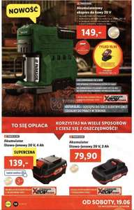 Parkside - akumulatorowy ekspres do kawy 20V