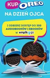 60 dni Empik Go (pakiet 300 pozycji: audiobooki, ebooki, podcasty) za zakup produktu Oreo @ Empik