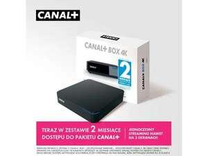 Tuner CANAL+ Android TV BOX 4K DVB-T2 +2 miesiące dostępu