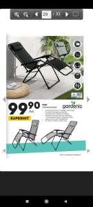 Krzesło ogrodowe regulowane w Biedronka