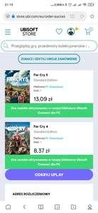 Far Cry 4 + Far Cry 5 za 21,46 zł, Assassin's Creed Odyssey za 22,47 zł oraz inne okazje do ok. 30 zł