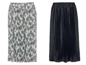 Plisowana spódnica za 24,99zł (dwa kolory) @ Lidl