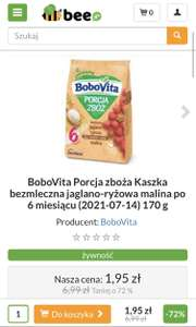 Kaszka Bobovita Porcja Zbóż
