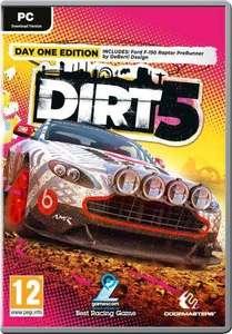 Dirt 5 pudełkowa [PC/Steam]