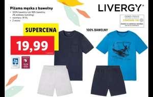 Piżama męska Livergy M-XL - Lidl