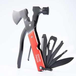 Narzędzie kieszonkowe Młotek Multitool narzędzie ze stali nierdzewnej