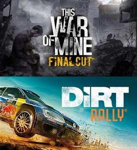 Award Winner Bundle - 8 gier (PC, Steam) w 3 progach od 1€ do 10€ (m.in. This War of Mine + DiRT Rally za 4,52zł)