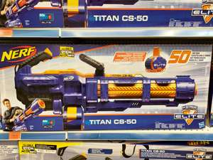 NERF Elite Titan CS-50 [Wrocław] Toys'R'Us