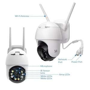 YI PTZ Wifi kamera outdoor zewnętrzna 1080P obrotowa 2mp color night vision $45.29