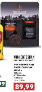 Whisky Auchentoshan American Oak 0,7 + 2 kubki. Kaufland