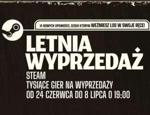 Letnia Wyprzedaż na Steam (24.06 - 8.07) - najciekawsze promocje |m.in. Mafia, Firewatch, Undertale, The Forest, Tomb Raider, Wiedźmin..|