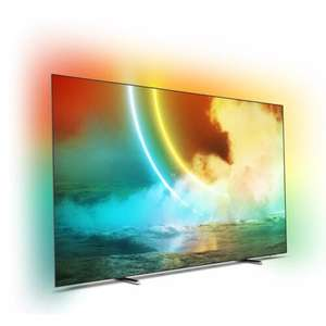 """Telewizor PHILIPS 55OLED705 55"""" OLED 4K 120Hz Android TV Ambilight x3 Dolby Atmos (model 2021)"""