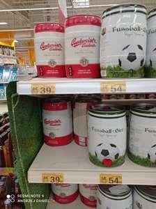Piwa keg 5l w obniżonych cenach m.in. Budweiser czy Fussbal - Auchan Krasne