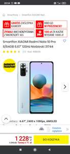 Smartfon redmi note 10 pro 6/64 niebieski